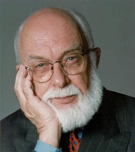 James Randi, also known as The Amazing Randi. A famous illusionist and skeptic.