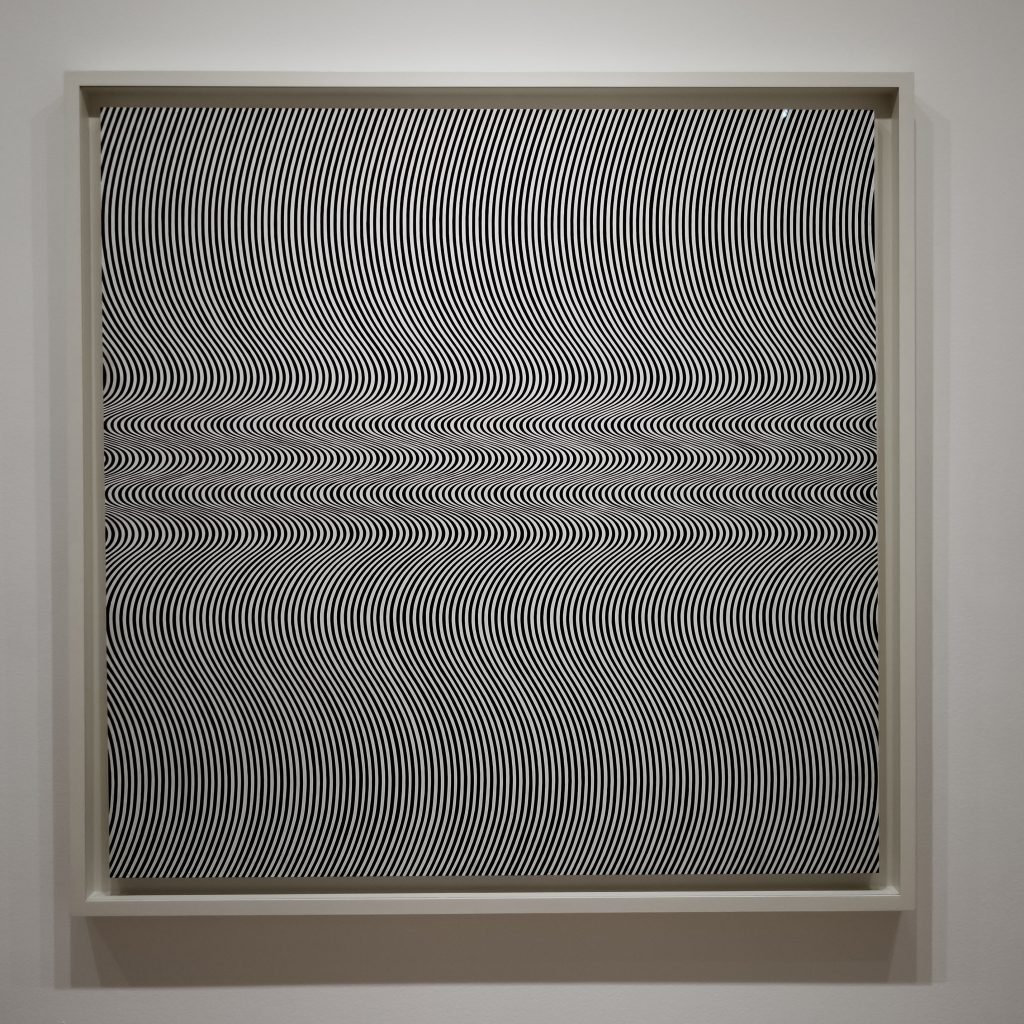 Current by Bridget Riley for the Museum of Illusions NYC Blog